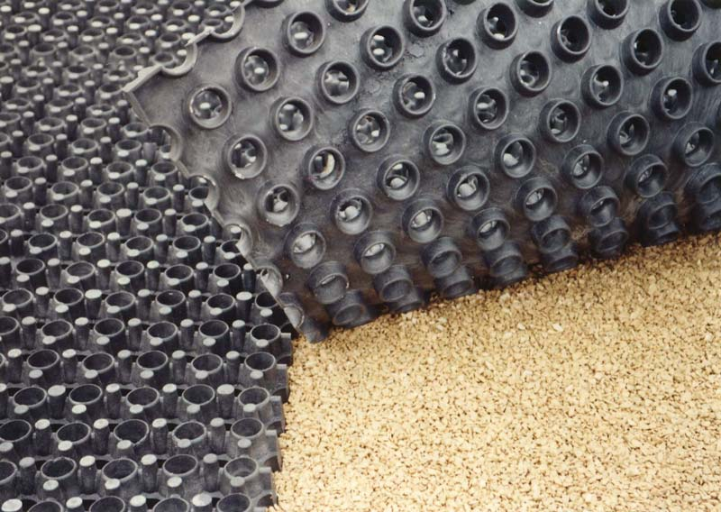 OTTO Perforated Mats separation of footing and substructure