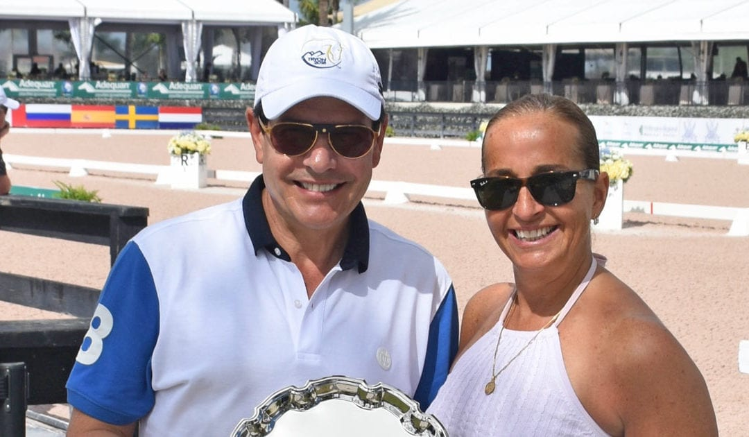 Cesar Torrente Recognized As Premier Equestrian During Adequan® Global Dressage Festival 7*