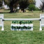 picket fence horse jump