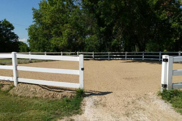 Horse Paddock Footing & Mud Control Mats for Round Pens & Pastures